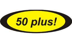 50 plus!